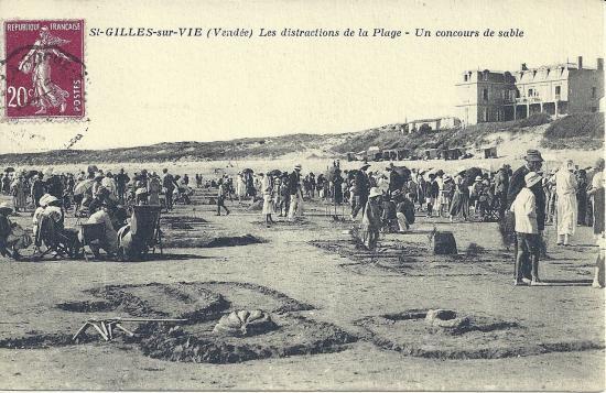 St-Gilles-sur-Vie, les distractions de la plage.