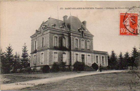 St-Hilaire-le-Vouhis, château du grand Bois.