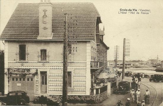 Croix-de-Vie, l'hôtel Nid de France.