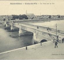St-Gilles-Croix-de-Vie, le pont sur La Vie.