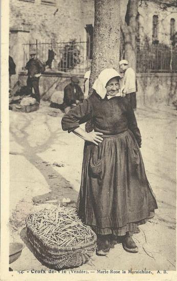 Croix-de-Vie, Marie-Rose, la maraichine.