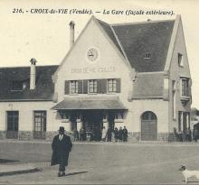Croix-de-Vie, façade extérieure.