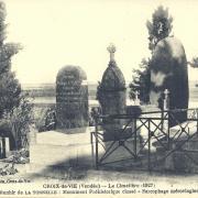 Croix-de-Vie, le cimetière.