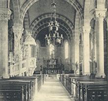 Croix-de-Vie, intérieur de l'église.