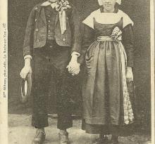 Mariés du bocage vendéen.