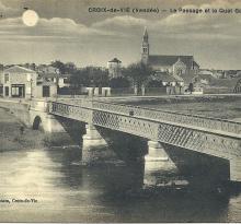 Croix-de-Vie, le passage et le quai Gorin.