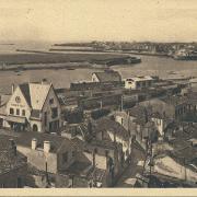 Croix-de-Vie, vue aérienne de la gare.