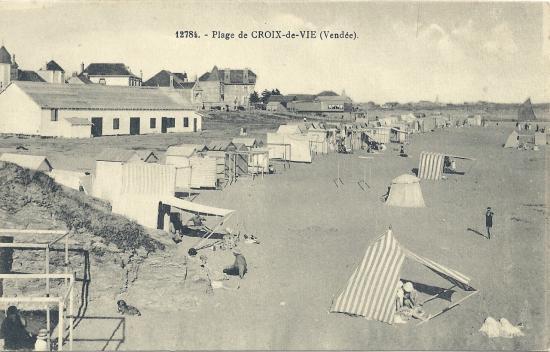 Plage de Croix-de-Vie.