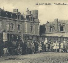 St-Gilles-sur-Vie, la villa Notre-Dame, façade Nord.
