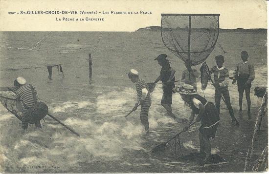 St-Gilles-Croix-de-Vie, les plaisirs de la plage.