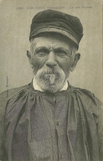Nos vieux vendéens, le Père Manuel.