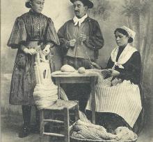 Croix-de-Vie, fabrication de dragues.