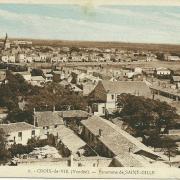 panorama de St-Gilles et Croix-de-Vie.