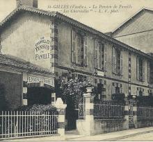 St-Gilles-sur-Vie, pension de famille Les Charmilles.