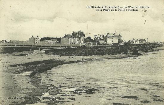 Croix-de-Vie, la côte de Boisvinet.