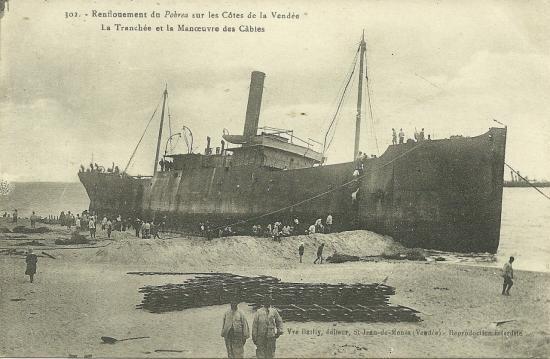 Renflouement du Pohréa.