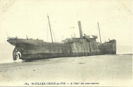 St-Gilles-Croix-deVie, à l'abri des sous-marins.
