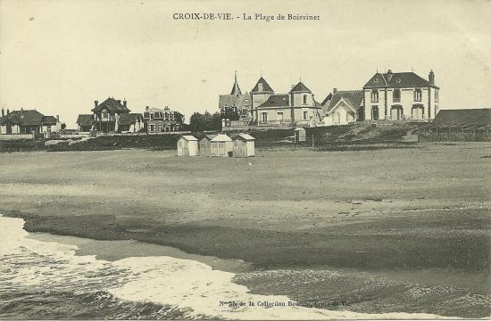 Croix-de-Vie, la plage de Boisvinet.