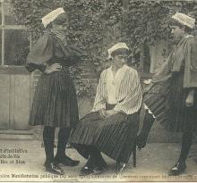 St-Gilles, Croix-de-Vie et Sion, concours costume maritime.