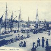 St-Gilles-sur-Vie, un coin du quai.