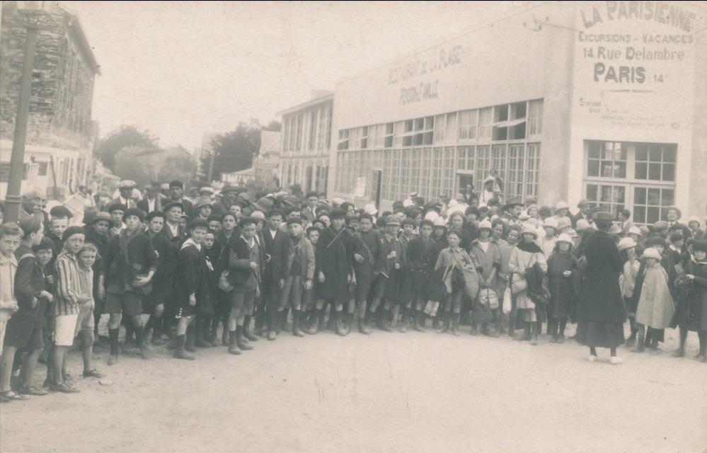 St-Gilles-sur-Vie, colonie de vacances, école maritime.