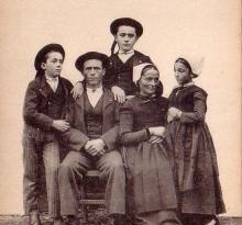 Une famille maraichine.