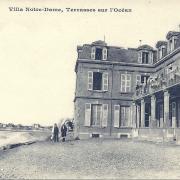 St-Gilles-sur-Vie, la villa Notre-Dame, terrasses sur l'océan.