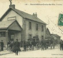 St-Gilles-Croix-de-Vie, la gare.