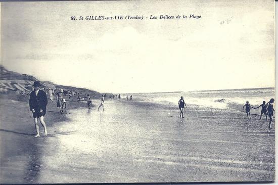 St-Gilles-sur-Vie, les délices de la plage.