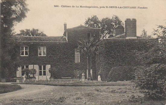 St-Denis-la-Chevasse, château de la Marchegaizière.