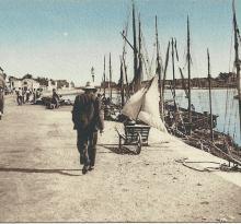 St-Gilles-sur-Vie, le quai.