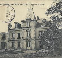 Bazoges-en-Pailliers, château de la Richerie.