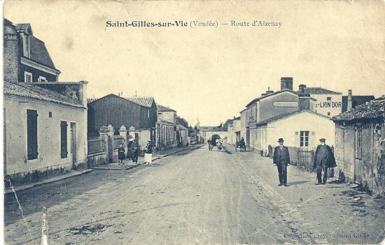 St-Gilles-sur-Vie, la route d'Aizenay.