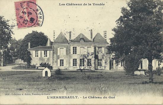 L'Hermenault, le château du Gué.