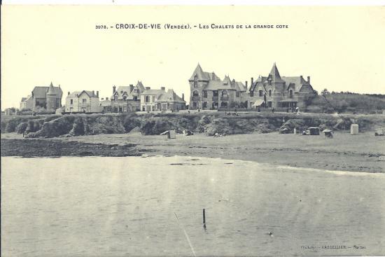 Croix-de-Vie, les chalets de la grande côte.
