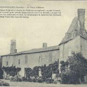 Beaurepaire, le vieux château.