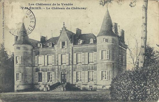 St-Valérien, le château de Chatenay.