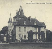 Chantonnay, le château des Roches-Baritaud.