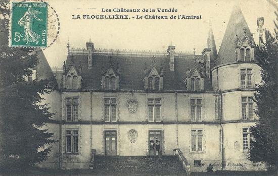 La Flocellière, le château de l'Amiral.