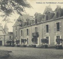 Château de Faymoreau.