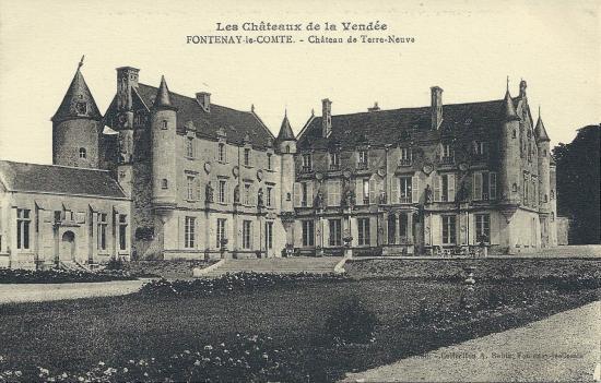 Fontenay-le-Comte, château de Terre-Neuve.
