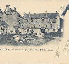 Fontenay-le-Comte, le château de Terre-Neuve.