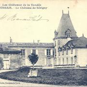 Foussais, le château de Sévigny.