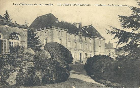La Chataigneraie, le château du Marronnier.