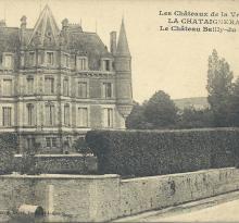 La Chataigneraie, le château Bailly-du-Pont.