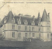 La Flocellière, le château.