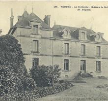 La Garnache, le château de Bel-en-Ton.