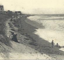St-Gilles-sur-Vie, la villa Notre-Dame et la plage.
