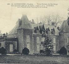 La Gaubretière, le vieux château de Ramberge.