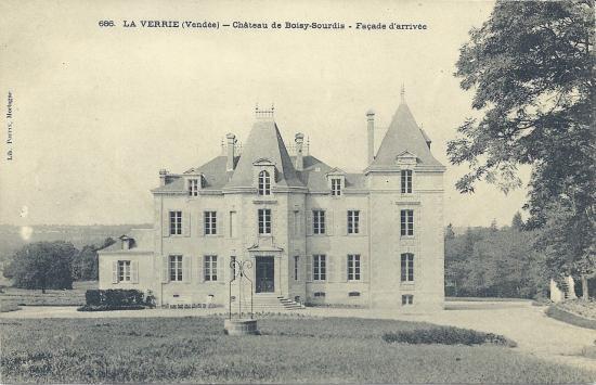 La Verrie, château de Boisy-Sourdis.